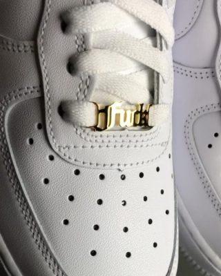 personalisierte Sneakerschnalle