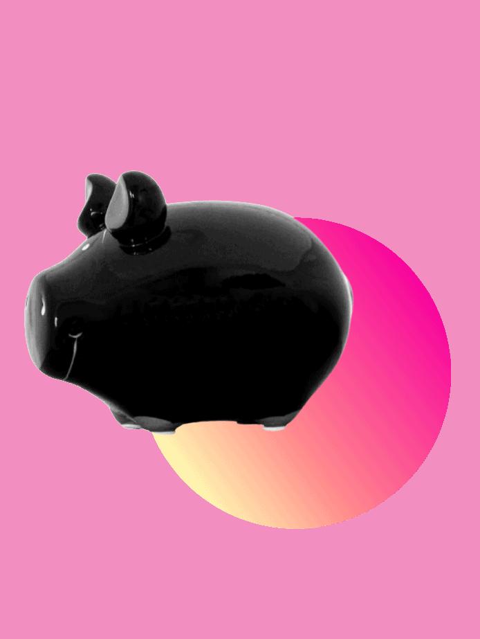 preisgünstige Ostergeschenke Sparschwein
