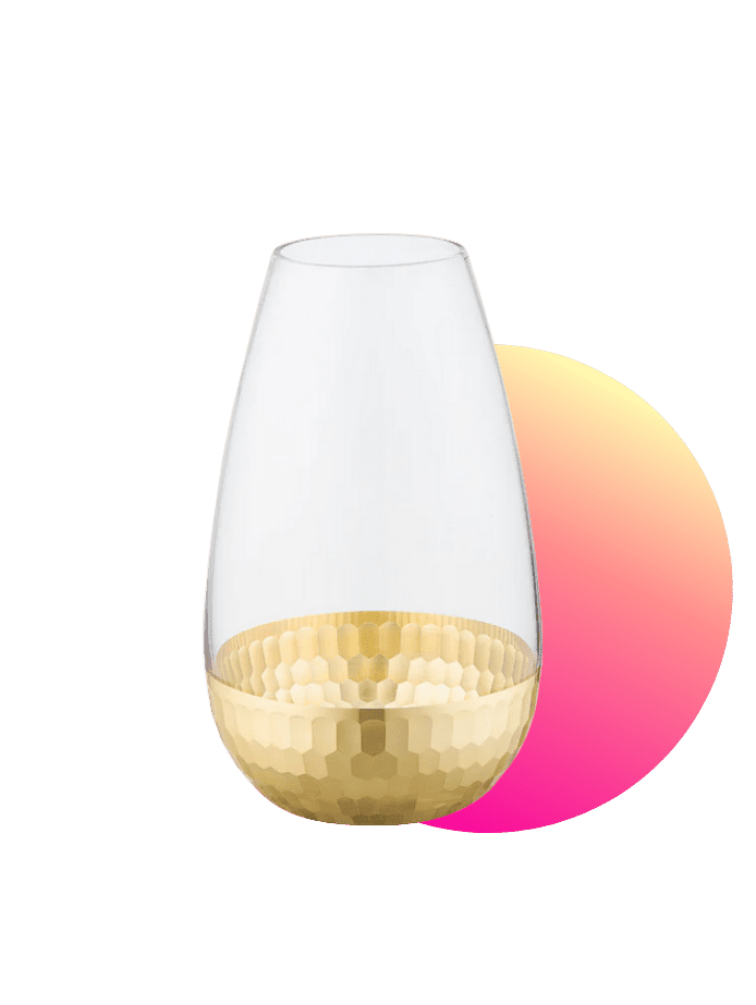 preiswertes Ostergeschenk Vase
