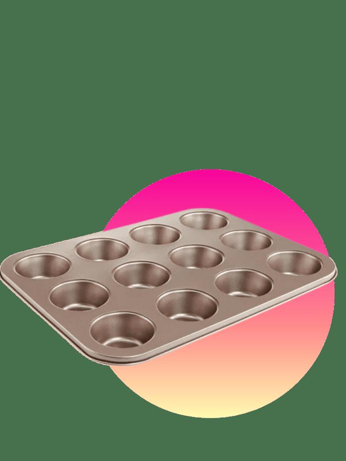 preisgünstige Ostergeschenke Muffinblech