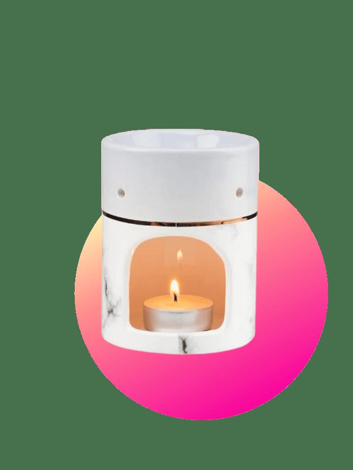 preisgünstige Ostergeschenke Aromalampe Marmor