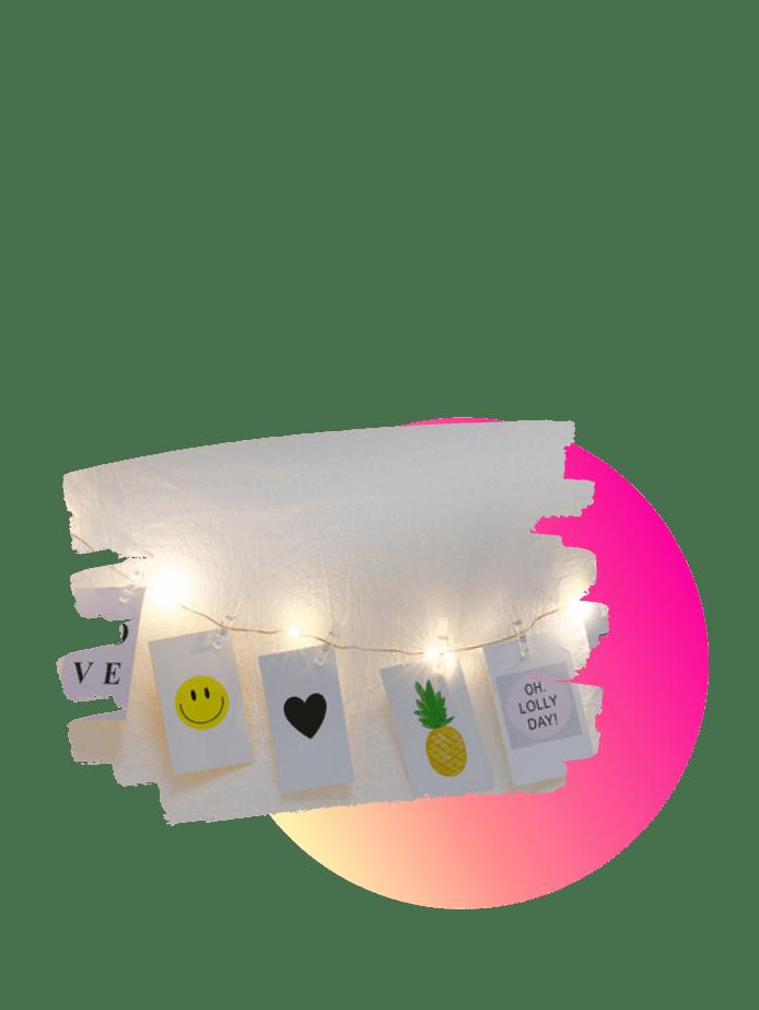 preisgünstige Ostergeschenke Lichterkette