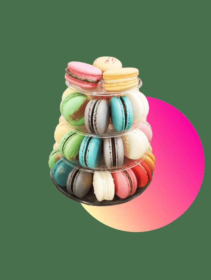 preiswerte Ostergeschenke Macarons