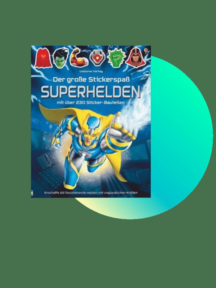 Superhelden Stickeralbum